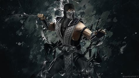 Mortal Kombat Smoke Wallpaper By Thesyanart On Deviantart