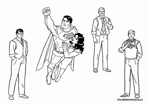 Supergirl Coloring Pages - Costumepartyrun