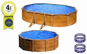 Piscine Hors Sol Acier Imitation Bois : kit piscine hors sol beton cool une piscine hors sol en ~ Dailycaller-alerts.com Idées de Décoration