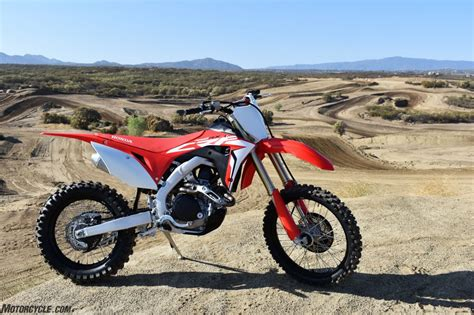 2019 Honda Trail Bikes by 2019 Honda Crf450rx Review Dirt Bikes Ride