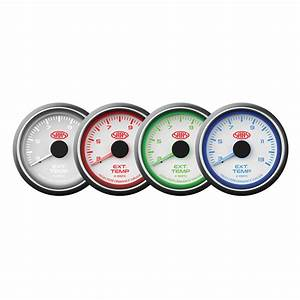 Saas Exhaust Temperature Gauge 52mm White 300