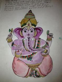 ganesha spiritual meditation indian hindu elephant buddha god ganesh print poster hindus