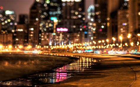 The City Of Lights by Nyc City Lights In High Definition Hd Desktop Wallpaper