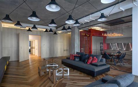 basement floor plans ideas warm industrial style shines in a st petersburg loft
