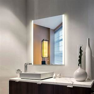 Bathroom, Mirror, With, Lights, Built, In