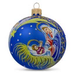 shooting star glass ball religious christmas nativity ornament ebay