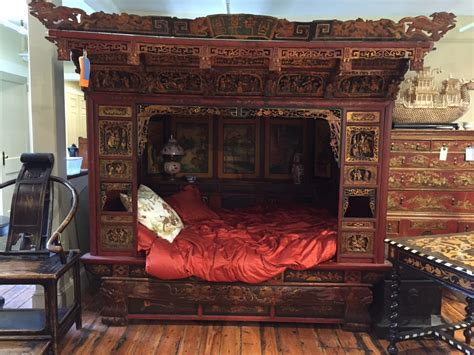 chinees bed the wedding bed mahjong treasures