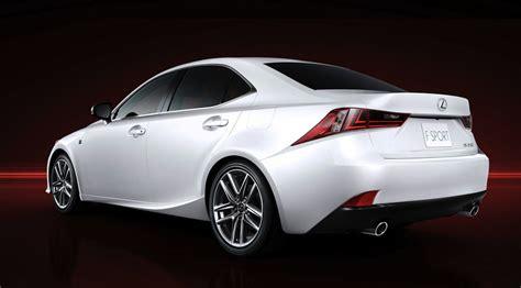 custom lexus is 350 2014 2014 lexus is 350 f sport rear 7 8 view egmcartech