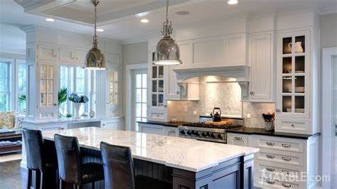 kitchens with two different colored countertops a few color granite colors your should think about 9635
