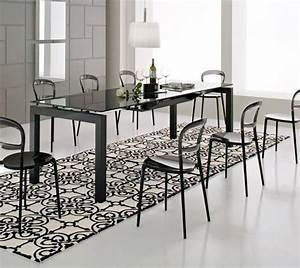 Solde Table A Manger : tapis salle manger 50 id es pour choisir la forme ~ Teatrodelosmanantiales.com Idées de Décoration