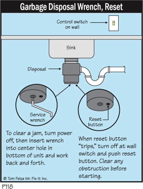 sink disposal not turning on tip 10 reviving a dead disposal misterfix it