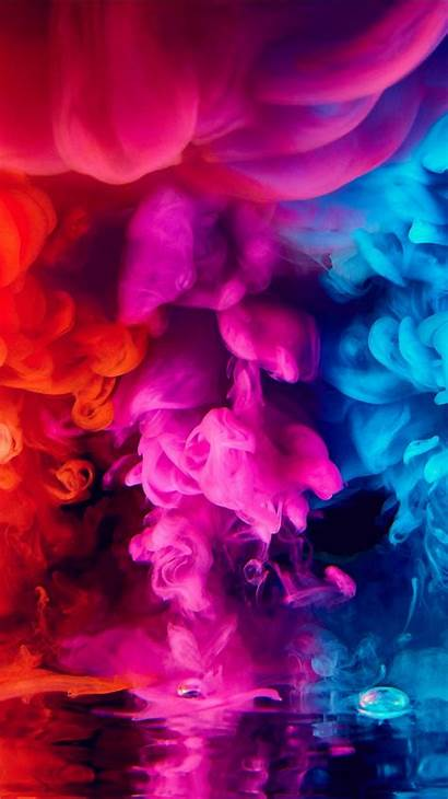 Smoke 4k Colorful Iphone Wallpapers Colors Plus
