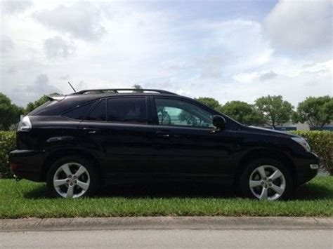 Find Used 2004 04 Lexus Rx 330 Rx-330 Rx330 Black Sunroof