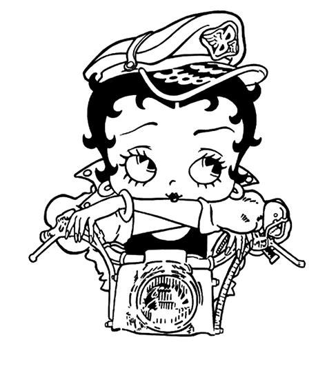 Betty Boop Kleurplaat by Betty Boop Kleurplaat 187 Animaatjes Nl