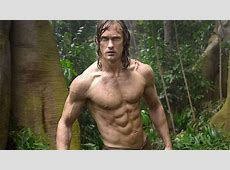 Alexander Skarsgard Shirtless, Bares Abs in New 'Tarzan