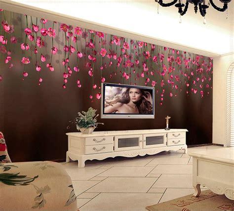 fantastic  wallpaper  tv unit decorations decor units