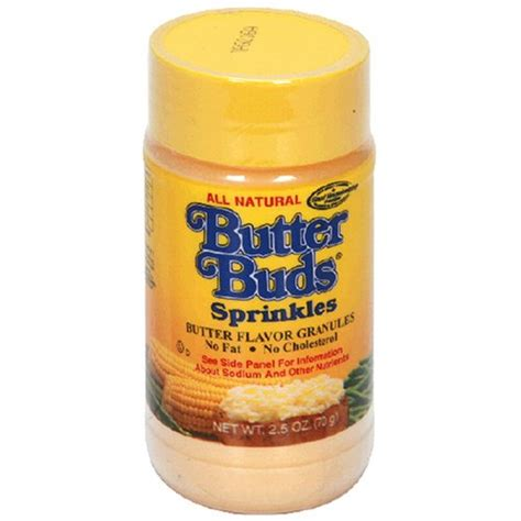 butter buds sprinkles 2 5 ounce canister pack of 12