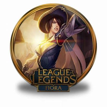 Fiora Icon Royal Guard League Legends Border