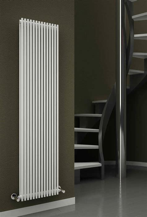 reina tubes 350 x 1800mm white double panel steel designer