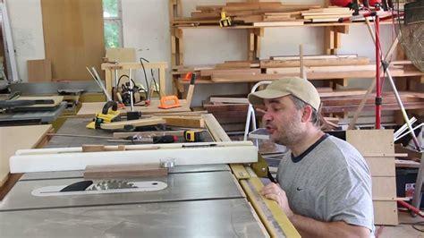 Make A Table Saw Fence Alignment Jig Youtube