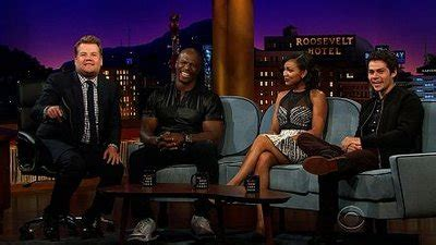 dylan o brien on james corden the late late show with james corden 1x78 terry crews