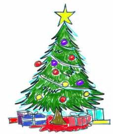 christmas tree drawing s cliparts co