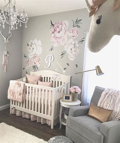 baby girls nursery   beautiful
