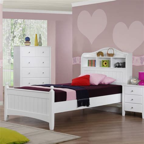 children s bed alexia children s white storage bed the children s