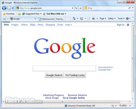 Internet Explorer 8.0 (XP) Download for Windows ...