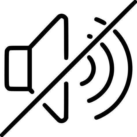 No Sound by Volume Lmute Big No Sound Svg Png Icon Free