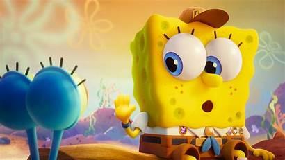 Spongebob Sponge Run Gary 4k Wallpapers Kid