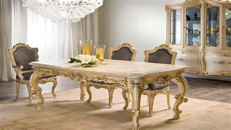 Traditional furniture styles, french provincial dining