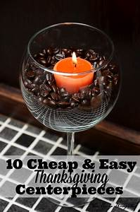 10, Easy, U0026, Inexpensive, Thanksgiving, Table, Decorations, U0026, Centerpieces
