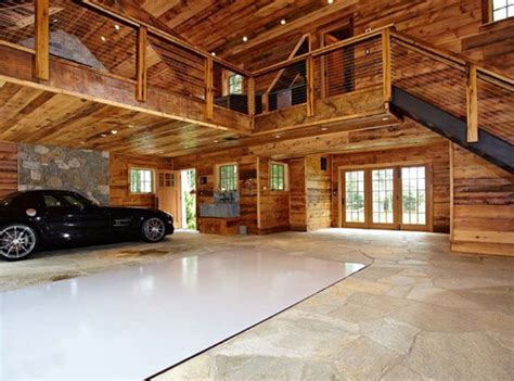 luxury home garage  car elevator  connecticut