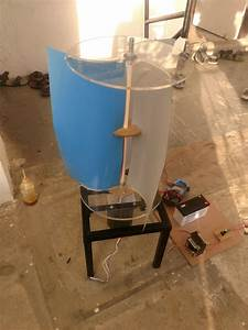 Vawt Vertical Axis Wind Turbine With Gear Less Technology