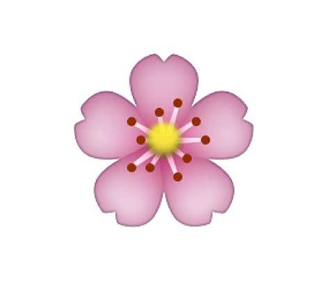 Transparent Flower Emoji Tumblr