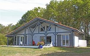 maison en bois 2 4 la maison bois par maisons boiscom With maison en bois peinte