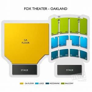 Fox Theater Oakland Seating Chart Fox Theater Oakland Tickets Fox Theater Oakland Seating