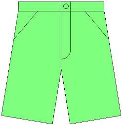 Shorts Clothes Clip Art Free