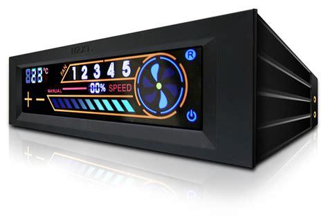 Best Computer Fan Controller by Techwarelabs Nzxt Sentry 2 Touch Screen Fan Controller