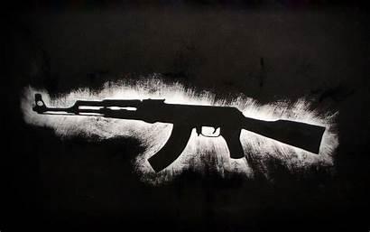 Ak 47 Ak47 Gold Guns Anime Gun
