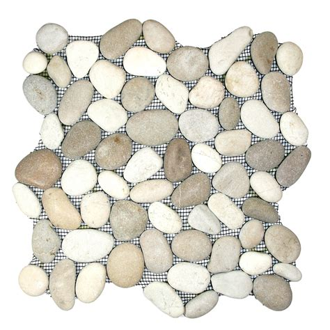 Tandus Flooring Pebble Mesh by And White Pebble Tile Fireplace Surround And Hearth