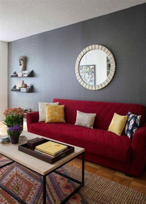 red sofa decor ideas  pinterest red sofa red