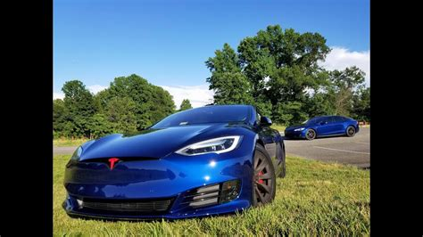 Tesla Model S.....1080p.....view From Above....7-1-2017
