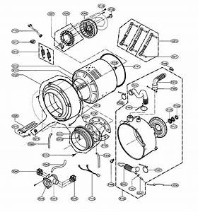 Lg Wm2688hwm Washer Parts