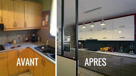 meuble cuisine formica avant après créer une cuisine ouverte pour moderniser intérieur
