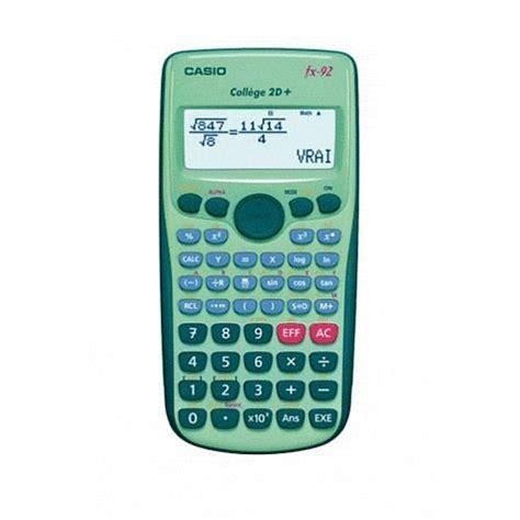 bureau c discount casio calculatrice fx 92 collège 2 d achat vente