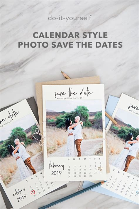 printable calendar style photo save