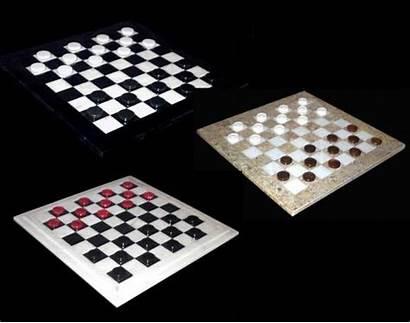 Board Checkers Marble Sets Checker Stone Games