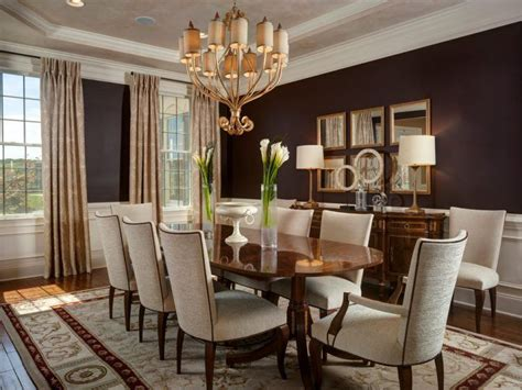Beautiful Dining Rooms by 10 Beautiful Dining Rooms With Brown Walls